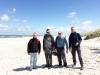 """Crew in der """"pommerschen Sahara"""" Nähe Leba"""